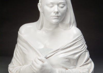 Margaret (2006) - 24(h) x 22(w) x 15(d) - airbrushed and glazed earthenware