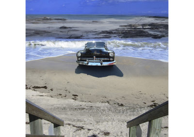 "Beached; Mercury Project (2104) - 28""(h) x 22""(w) - archival ink jet print on fine art paper"