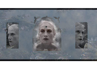 "Muses; Garden (2010) - 24""(h) x 44""(w) - archival ink jet print on fine art paper"