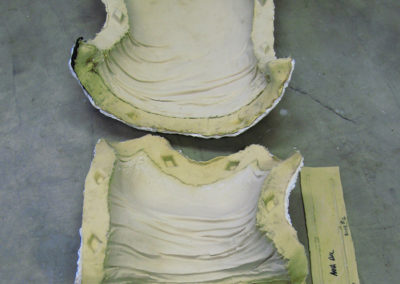 Rubber molds of camisole