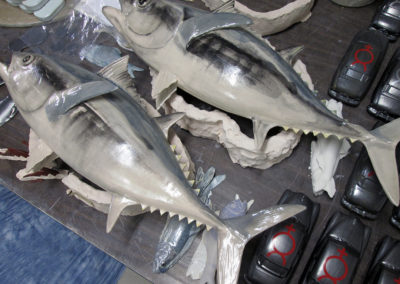 Glazed Earthenware Bluefin Tuna