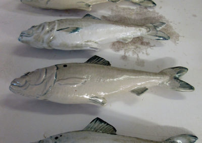 Glazed Porcelain Atlantic Herring