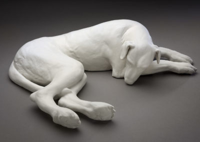 Dreaming (2019) - 3(h) x 15(w) x 10(d), porcelain and stoneware